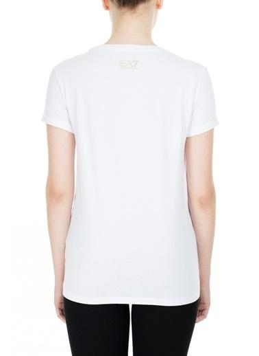 EA7 Emporio Armani  T Shirt Kadın T Shırt S 6Gtt24 Tj12Z 1100 Beyaz